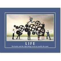 Motivational Print Life MP LI 0024