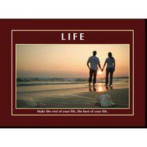 Motivational Print Life MP LI 0026