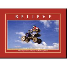 Motivational Print Believe you can MP AS 7717
