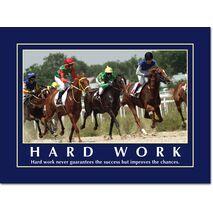 Motivational Print Hard work never guarantees MP AS 7718