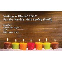 Family - Personalised Sentimental Desk Calendar
