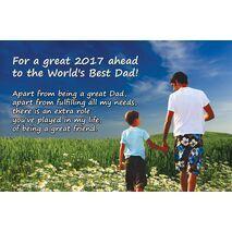 Father - Personalised Sentimental Desk Calendar