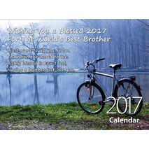 Brother - Personalised Sentimental Wall Calendar