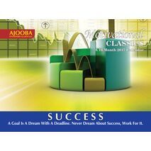 Success Motivational Wall Calendar