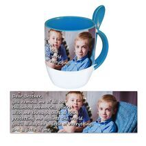Personalised Pictorial Spoon Mug PP SM 1305