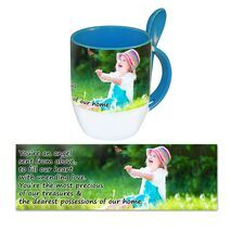 Personalised Pictorial Spoon Mug PP SM 1306