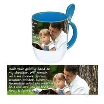 Personalised Pictorial Spoon Mug PP SM 1308