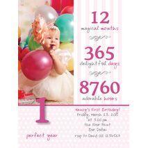 Birthday Invitation Card BIC 1001
