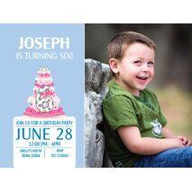 Birthday Invitation Card BIC 1102