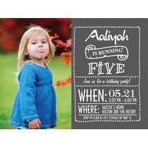 Birthday Invitation Card BIC 1008