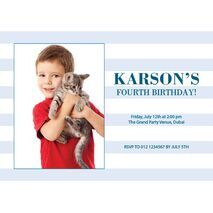 Birthday Invitation Card BIC 1112