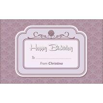 Birthday Gift Tag BGT 0017