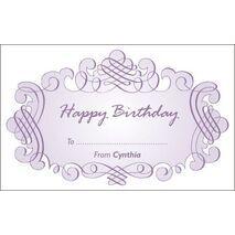 Birthday Gift Tag BGT 0018