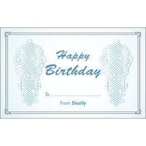 Birthday Gift Tag BGT 0021