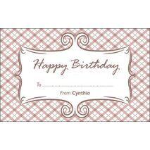 Birthday Gift Tag BGT 0023