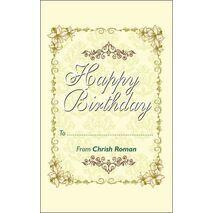 Birthday Gift Tag BGT 0030