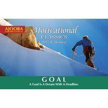 Goals Motivational Desk Calendar