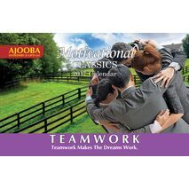 Teamwork Motivational Desk Calendar