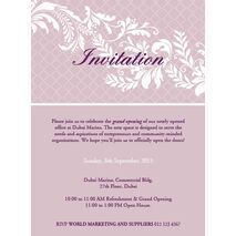 Office Inaugural Invitation OII 7102