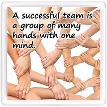 Motivational Magnet Teamwork MMT 1018