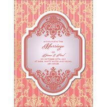 Wedding Invitation Card WIC 7891