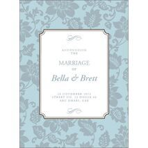 Wedding Invitation Card WIC 7899