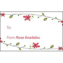 Formal Gift Tag F GT 1006