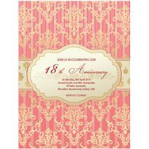Formal Invitation Card FIC 3338