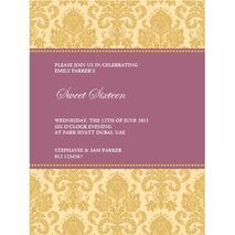 Formal Invitation Card FIC 3341