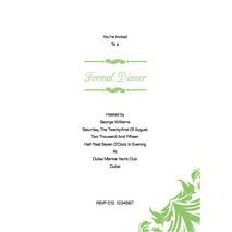 Formal Invitation Card FIC 3374
