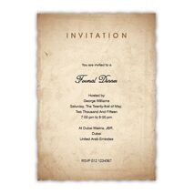 Formal Invitation Card FIC 3385