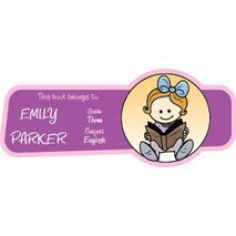 Personalised School Label 007
