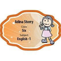 Personalised School Label 015