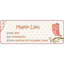 Personalised School Label 030