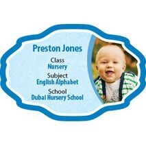 Personalised School Label 036