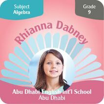 Personalised School Label 048