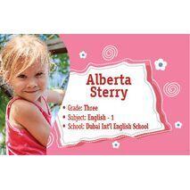 Personalised School Label 083
