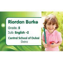 Personalised School Label 084