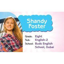 Personalised School Label 085