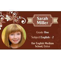 Personalised School Label 086