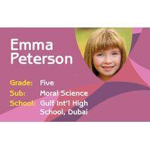 Personalised School Label 095