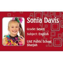 Personalised School Label 096