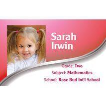 Personalised School Label 098