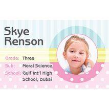 Personalised School Label 104