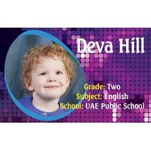 Personalised School Label 105