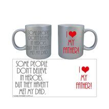Father's Day Silver Mug 003