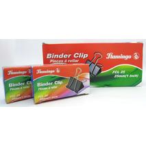 Flamingo Binder Clip 25mm