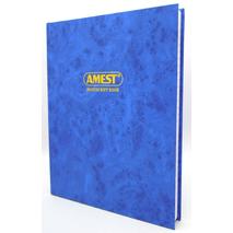 Amest Ruled Register A4 4Q