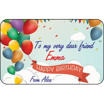 Personalised Gift Labels ST PGL 0012
