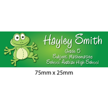 Personalised School Book Label Small PS BLS 0080